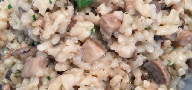 Don't Be Afraid of Risotto!