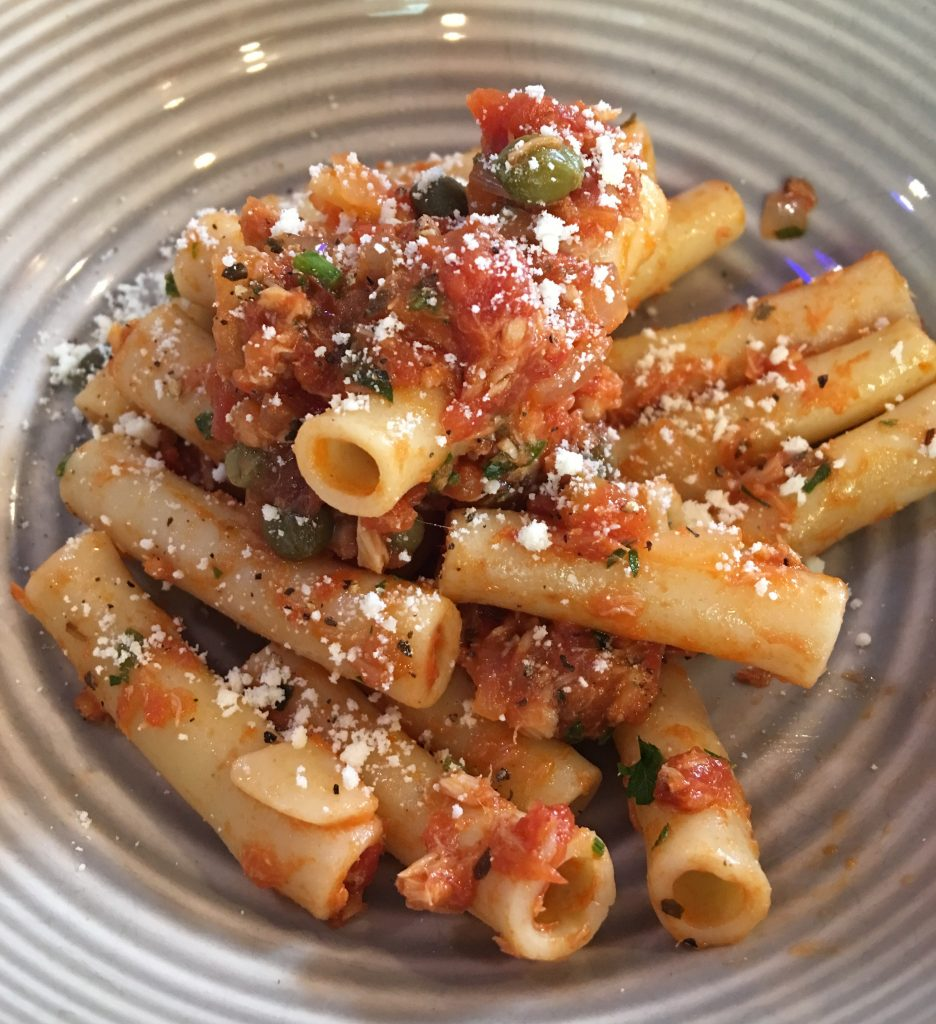 Pasta with Tuna and Capers