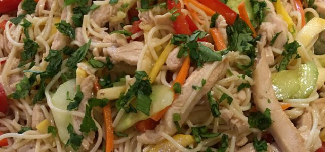 Recipe: Sesame Chicken Noodle Salad